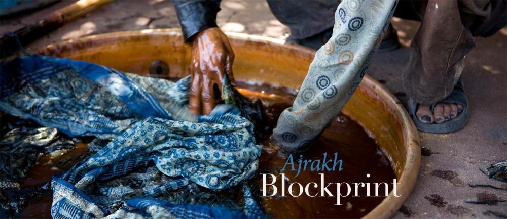 Hand Block printing of Kachchh