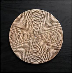 Rattan Coasters or Placements(#1010) - getkraft.com