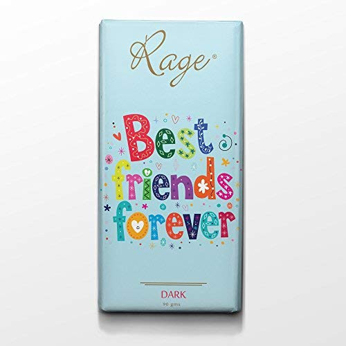Rage Best Friends Forever Chocolate Dark Bar 90 Grams(#1013)-gallery-0