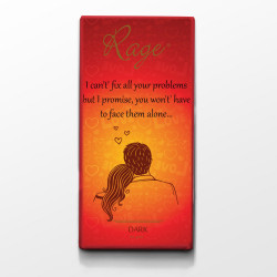 Rage I CanT Fix All Your Problems Dark Chocolate 90 Grams