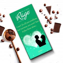 Rage I CanT Fix All Your Problems Dark Chocolate 90 Grams(#1015) - getkraft.com