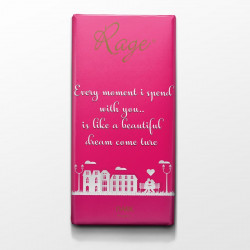 Rage Every Moment I Spend with You Dark Chocolate - 90 Grams