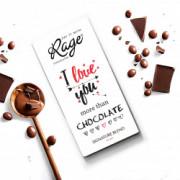 Rage I Love You More Than Chocolate Signature Chocolate - 90 Grams(#1021) - getkraft.com