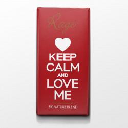 Rage Keep Calm and Love Me Signature Chocolate - 90 Grams