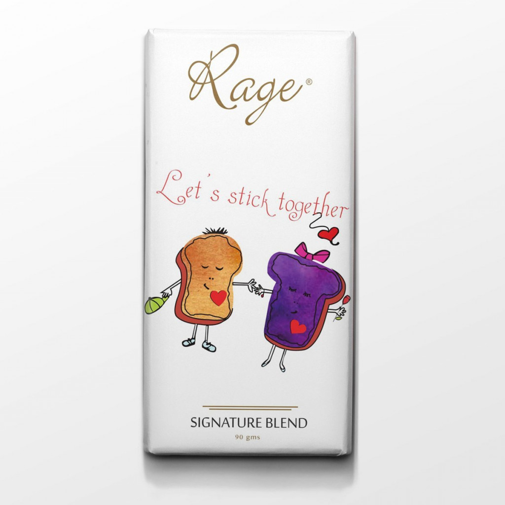 Rage Lets Stick Together Signature Chocolate - 90 Grams(#1023)-gallery-0