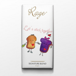 Rage Lets Stick Together Signature Chocolate - 90 Grams