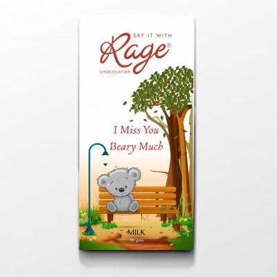 Rage Milk Chocolate Miss You - 90 Grams(#1024)-gallery-0