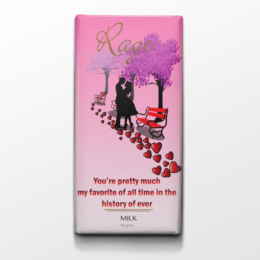 Rage You are Pretty Much My Favorite Milk Chocolate - 90 Grams(#1033)-gallery-0