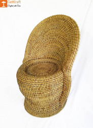 Cane Rattan Chair for Home or Office Decor(#1038) - getkraft.com