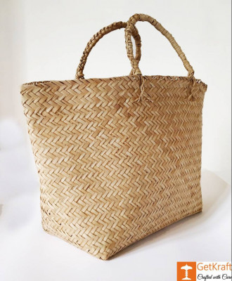 Seagrass or Sitalpati Shopping Bag(#1041)-gallery-0