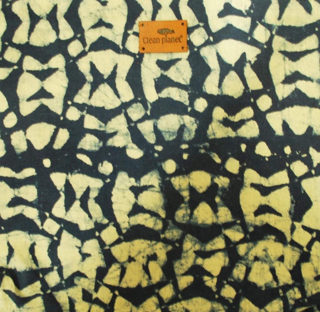 Clean Planet Womens Sling Bag (Blue) Indigo Block Printed(#1059)-gallery-4