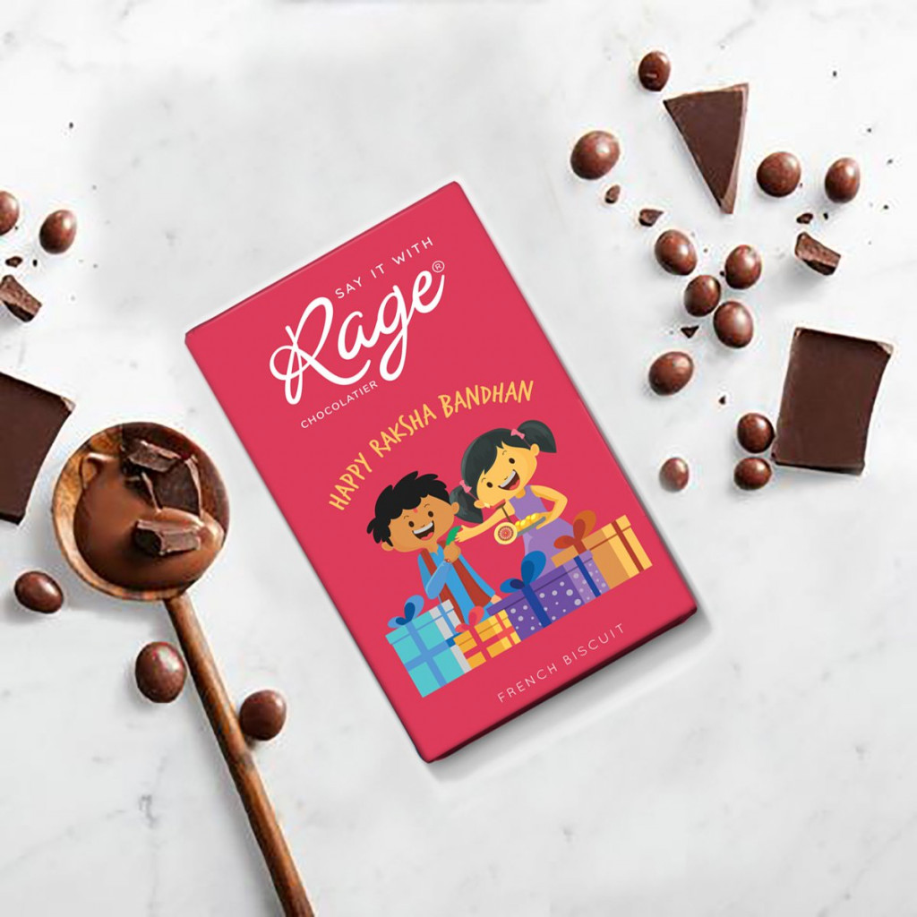 Rage Chocolatier Happy Raksha Bandhan 40 grams(#1065)-gallery-0
