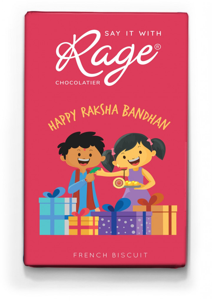 Rage Chocolatier Happy Raksha Bandhan 40 grams(#1065)-gallery-1