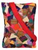 Tote bag Handcrafted Vibrant Patchwork Tote(#1068) - getkraft.com