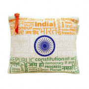Pouch Canvas pouch for women Eco Friendly Tricolor Canvas Pouch(#1072) - getkraft.com
