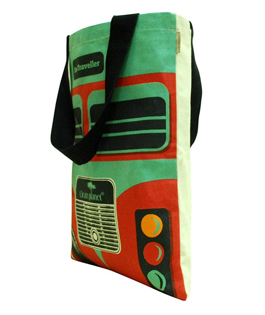 Tote bagTote bag for women (Green and Black)(#1074)-gallery-1