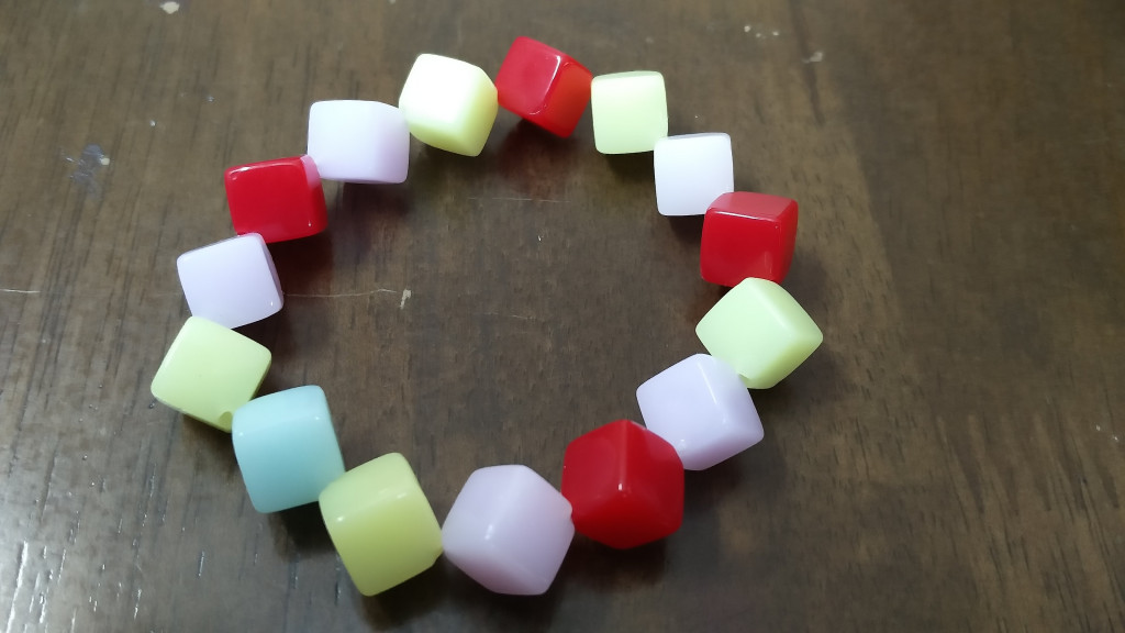 Colorful Square Bracelet(#1082)-gallery-1