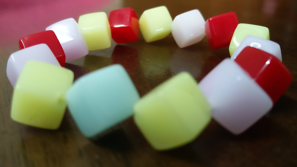 Colorful Square Bracelet(#1082)-gallery-2