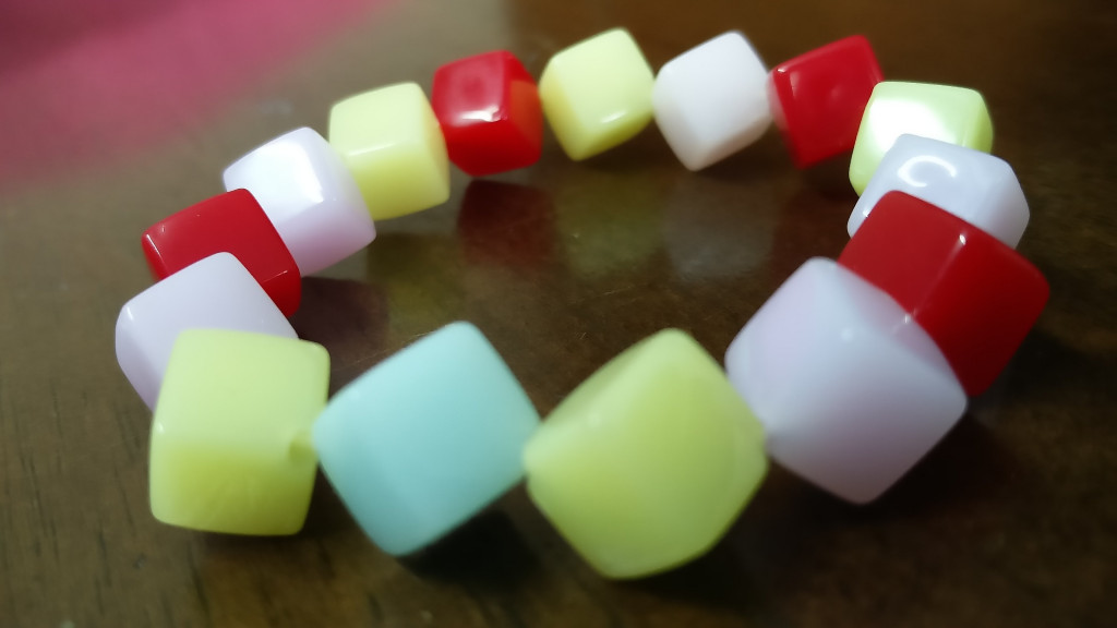 Colorful Square Bracelet(#1082)-gallery-3