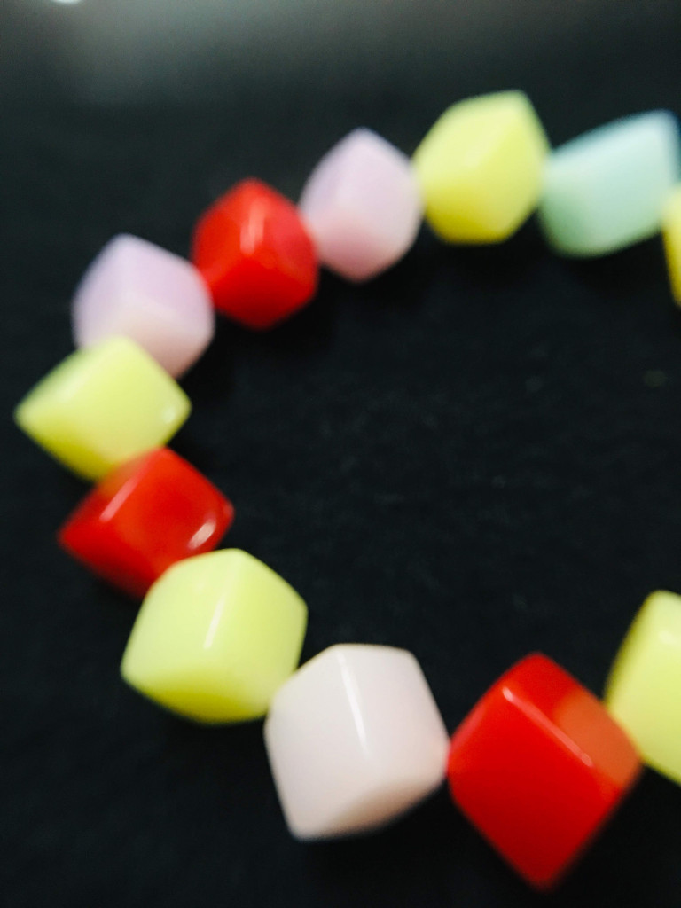 Colorful Square Bracelet(#1082)-gallery-4