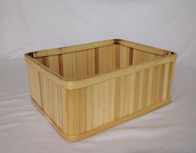 Rectangular Bamboo Basket(#1091)-gallery-0