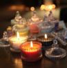 Candy Jar Votive Lavender Candle(#1095) - getkraft.com