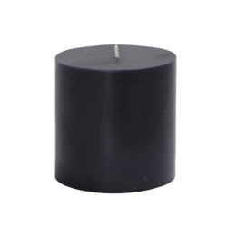 Black Beauty Aroma Pillar Candle (Small)
