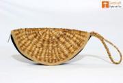 Natural Straw Handmade Clutch(#1110) - getkraft.com