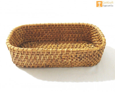 Cane Rattan Small Basket(#1117)-gallery-0
