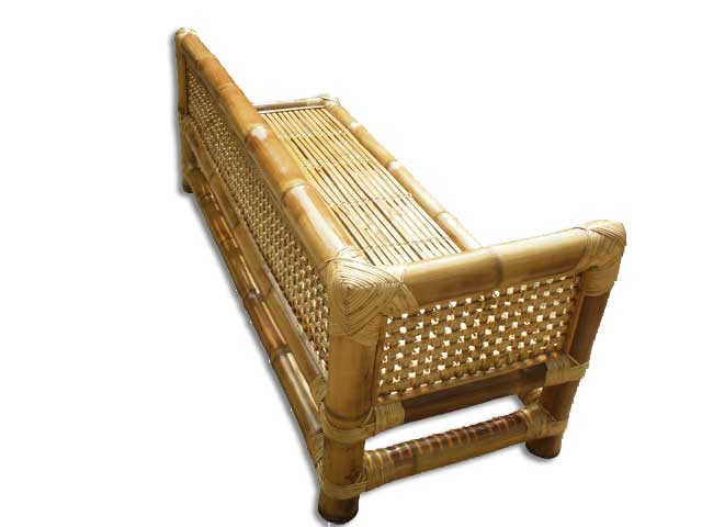 Bamboo Bed Sofa(#112)-gallery-3