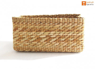 Natural Straw Small Basket(#1123)-gallery-0