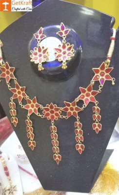Assamese Traditional Jewellery Set for Women of all Ages(#1152)-gallery-0