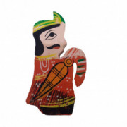 Weavers Direct Traditional Indian Handicraft Wooden Toys for Kids and Great for Christmas TreeHouse DecorationCan be Used in Garments Accessories with Elegant Puppets Design (Pack of 2)(#1172) - getkraft.com