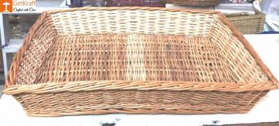 Wicker Willow Storage Basket(#1180)-gallery-0
