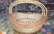 Wicker Willow Gift Basket (with) Handle Set Of 3(#1184) - getkraft.com