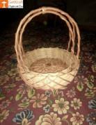 Wicker Willow Gift Basket (with) Double Handle Set Of 3(#1187) - getkraft.com