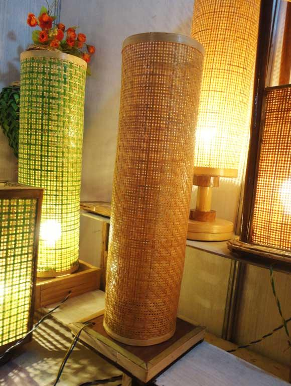 Bamboo Net Lamp(#119)-gallery-0
