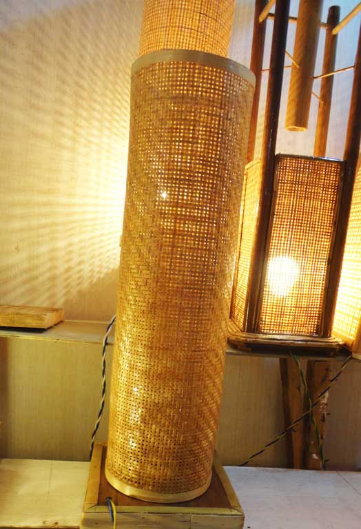Bamboo Net Lamp(#119)-gallery-2