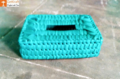 Palm Leaves Tissue Box(#1209)-gallery-0