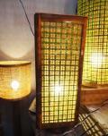 Square Net Table Lamp(#121)-thumb-1