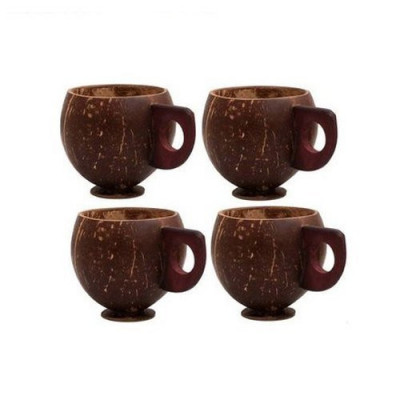 Coconut Shell Tea Cup(#1237)-gallery-0