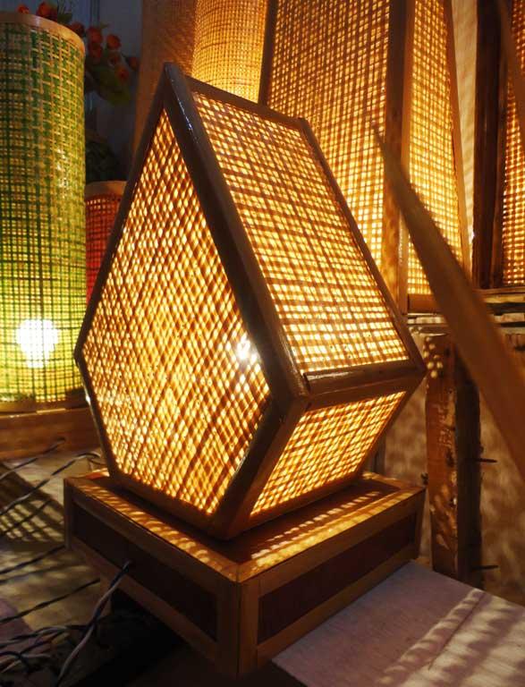 Pentagonal Net Lamp(#124)-gallery-2