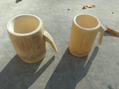 Bamboo Beer Mug(#1250)-gallery-0