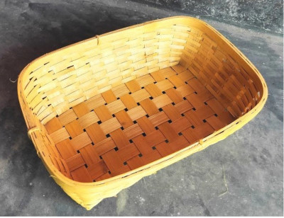 Bamboo Tray Natural(#1257)-gallery-0