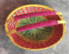 Bamboo Flower Basket With Handle(#1261) - getkraft.com