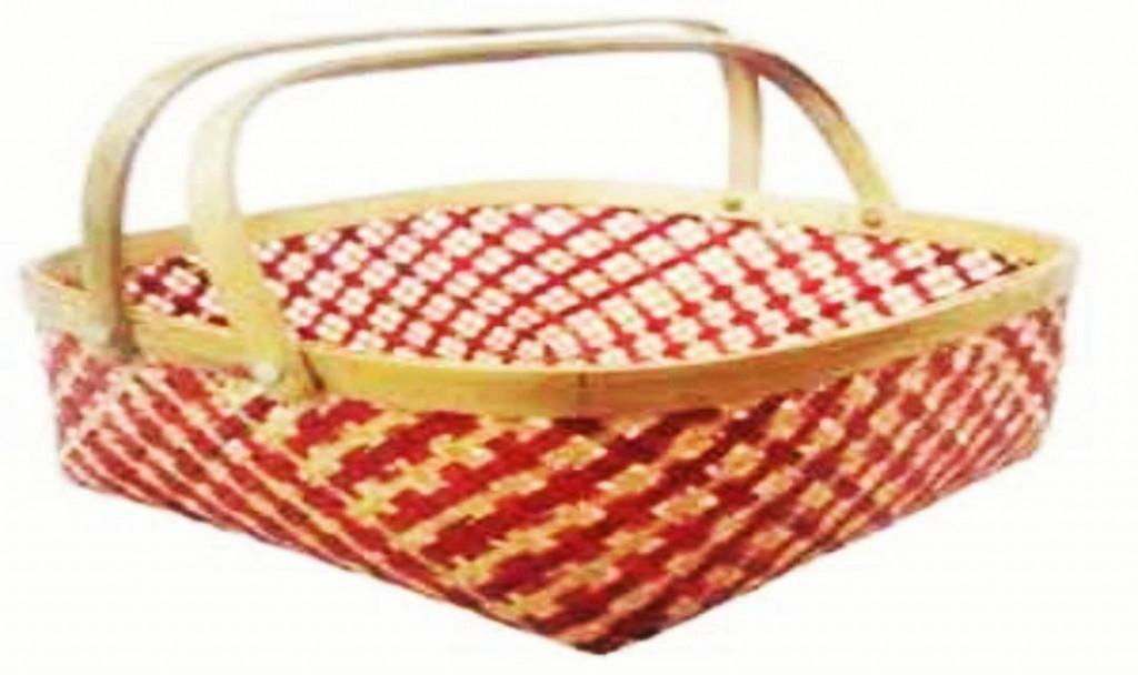 Kaya Basket (With Handle)(#1264)-gallery-0