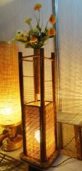 Square Lamp Flower Pot(#128)-thumb-1