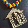 Necklace - art box(#1307) - Getkraft.com