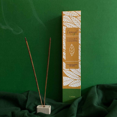 PREMIUM FLOWER BASED INCENSE STICKS- ESSCENT LOBAN(#1316)-gallery-0