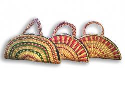 Unique Natural Straw Handmade Purse for Women(#134) - getkraft.com